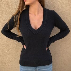 Inhabit 100% Cashmere V-Neck Sweater
